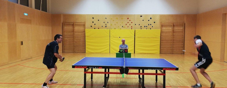 Start in die Tischtennis Meisterschaft
